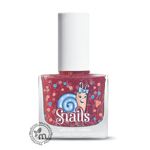 Snails Candy Cane Nail Polish Safe for Kids Water Washable (11284602951)