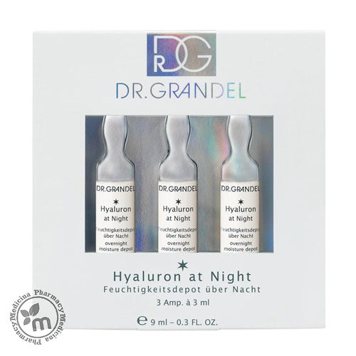 Dr Grandel Ampoules Hyaluron At Night Depot Moisturising - Medicina Online Pharmacy | UAE