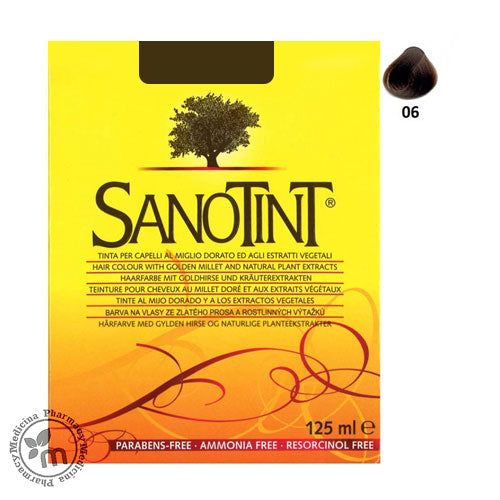 Sanotint 06 Organic Hair Color Dark Chestnut (1392046571569)