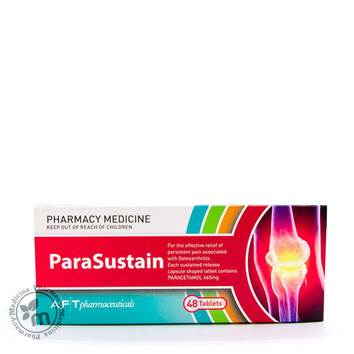 Parasustain Tablets Paracetamol For Joint Pain