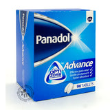 Panadol Advance 96 tablets - Medicina Online Pharmacy | UAE