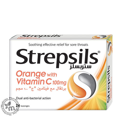 Strepsils With Vitamin C 24s