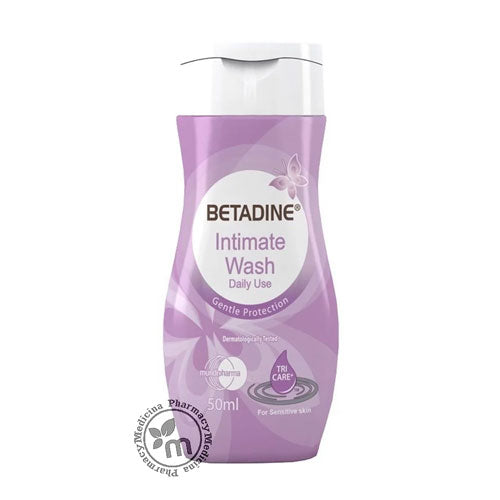 Betadine Intimate Wash Gentle Protection 50 mL