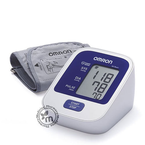 Omron M2 Basic Auto Blood Pressure Monitor - Medicina Online Pharmacy | UAE