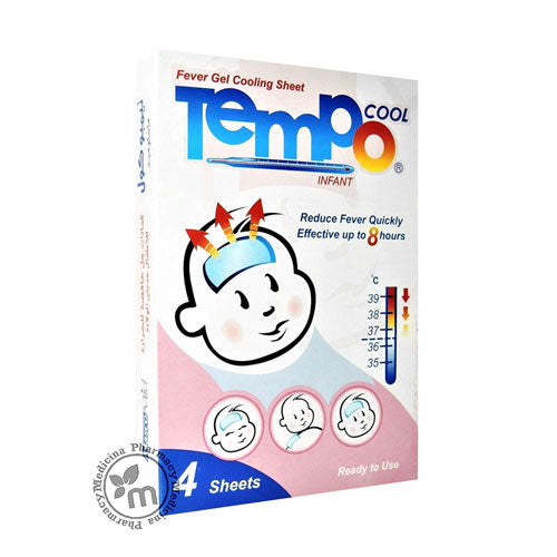 Tempo Cool Infant Fever Gel Cooling Sheet