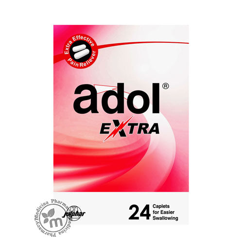 Adol Extra Tablets 24s - Medicina Online Pharmacy | UAE