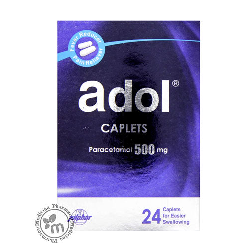 Adol Tablets 500mg 24s