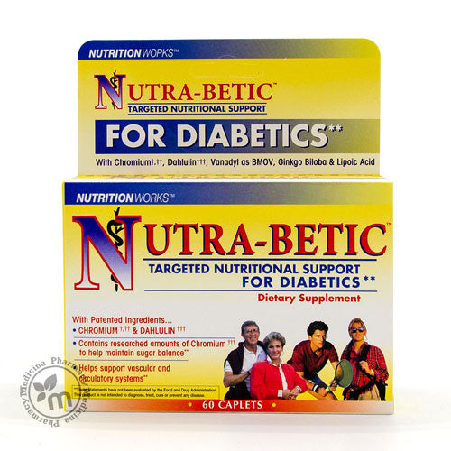NutraBetic Caplet Diabetic Supplements