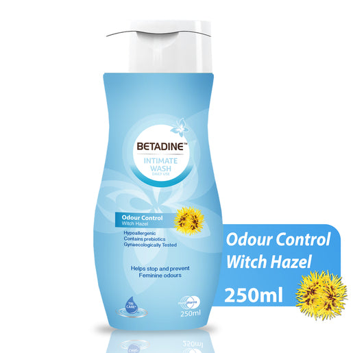 Betadine Intimate Wash Odour Control 250 mL