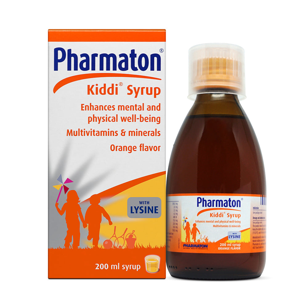 Kiddi Pharmaton Syrup Multivitamins For Kids 200ml