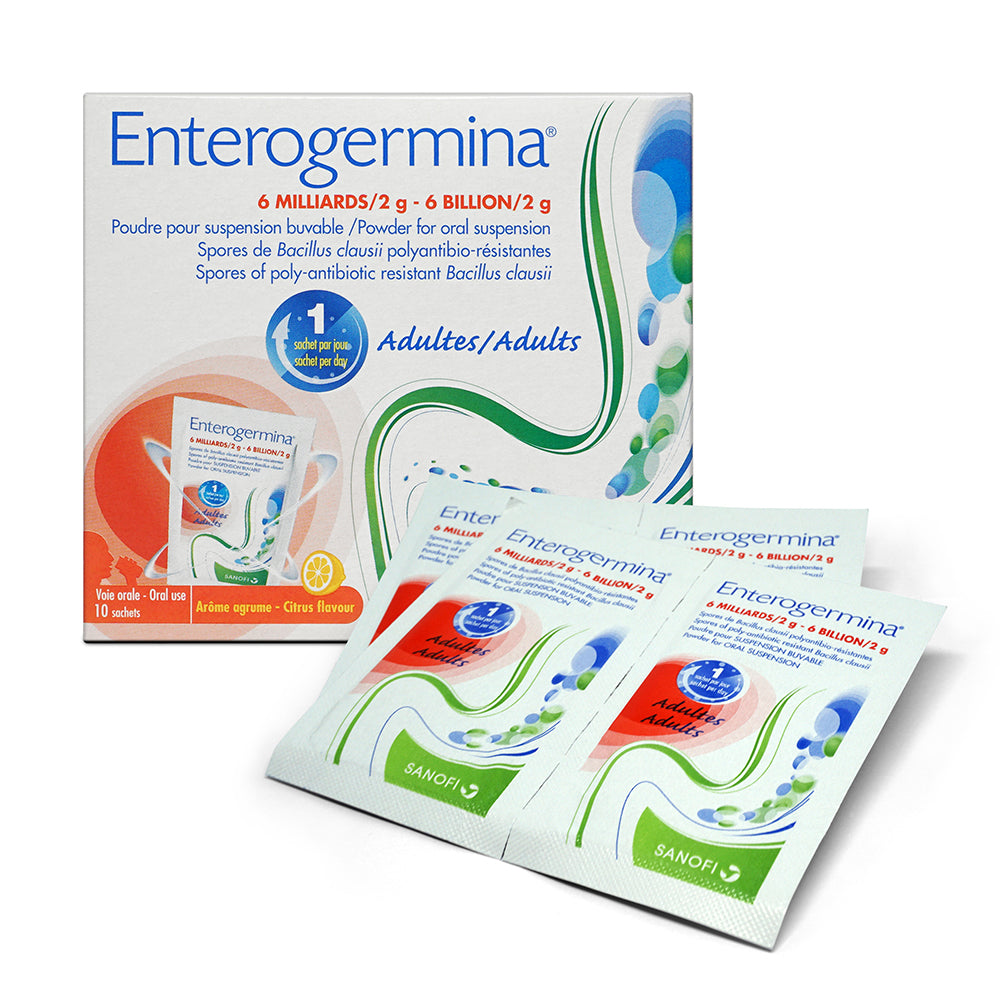 Enterogermina Powder Sachets 10s
