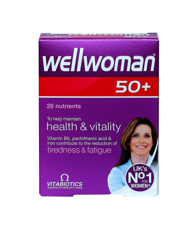 Wellwoman 50+ TabletsMultivitamins for Women - Medicina Online Pharmacy | UAE