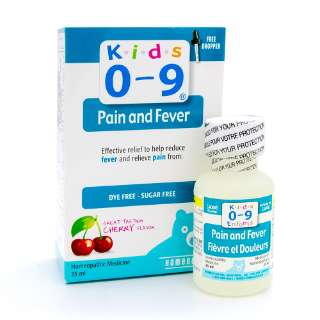 Kids 0-9 Pain & Fever Syrup 25ml