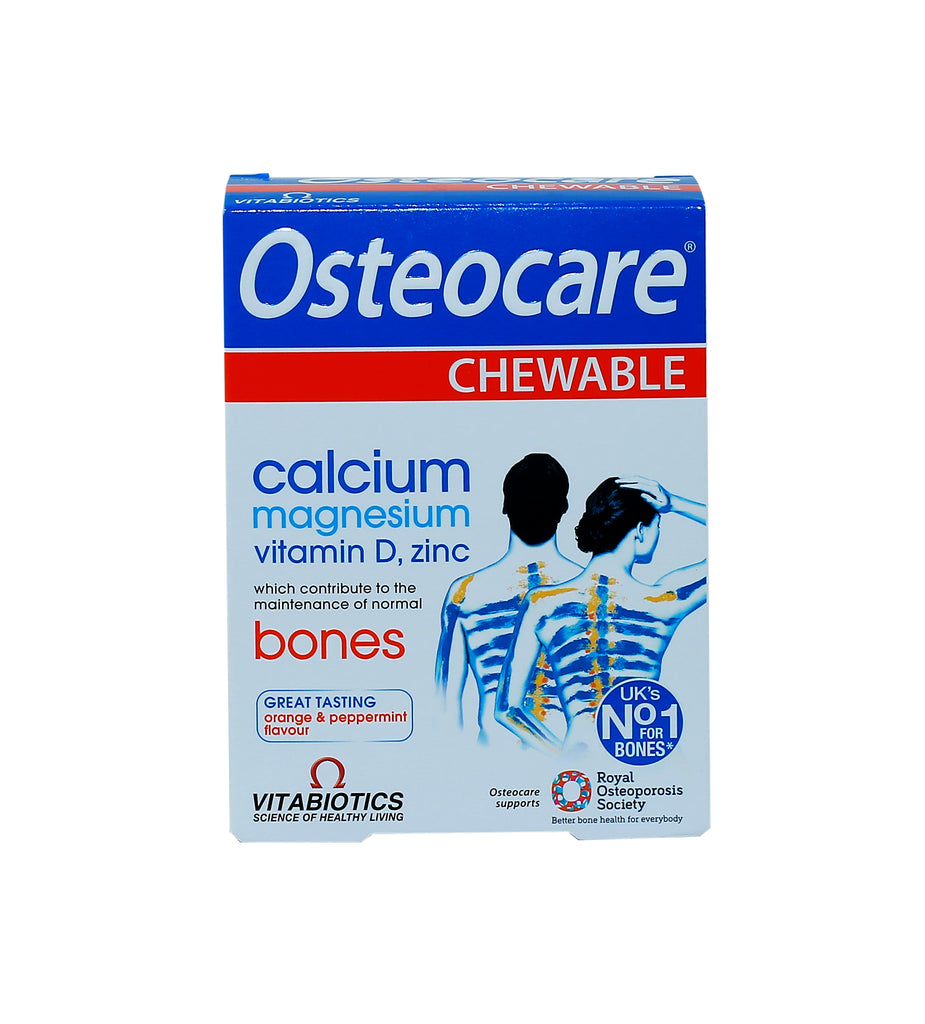 Osteocare Chewable Tablets Vitabiotics