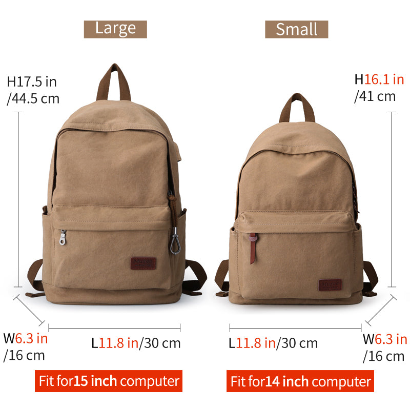 bb286f2e2c ... 2017 Men Male Canvas Backpack College Student School Backpack ...