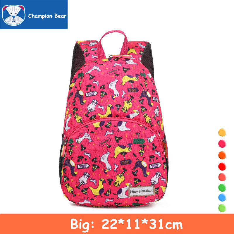 c3ad1a470ee4 ... Aged 1-3-5 Toddler Harness Kindergarten Baby Backpack Kids Bag ...