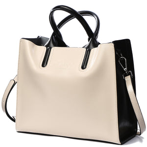BVLRIGA Genuine leather bag famous brands women messenger bags ... a2087347a5490