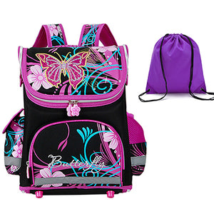 8a442496889c GCWHFL Brand Orthopedic Schoolbag Girls Backpacks For School Kids ...