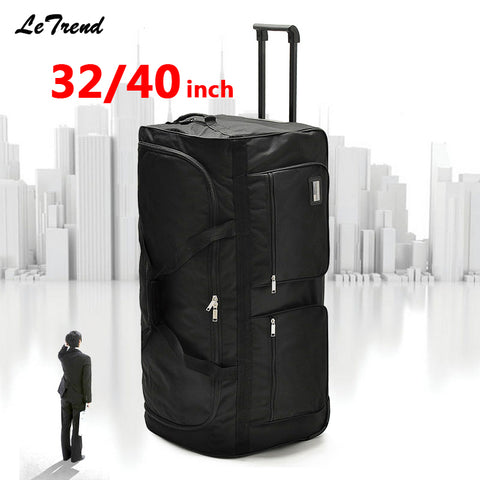 c96071c6aa6d VICUNA POLO Personality Large Size Round Leather Mens Travel Bag ...