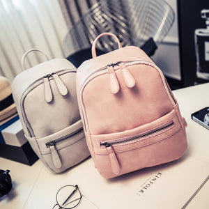 Miyahouse Women Backpack New Fashion Casual PU Leather Ladies