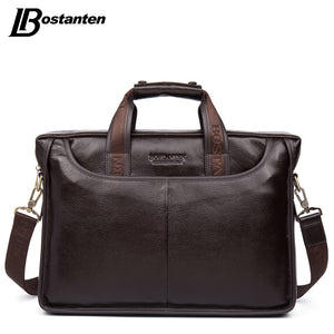 Bostanten 2017 New Fashion Genuine Leather Men Bag