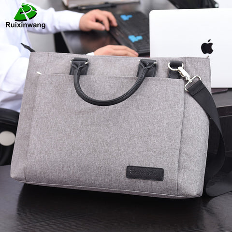 RUIXINGWANG High Quality And Simplicity Business Bags Men Briefcase