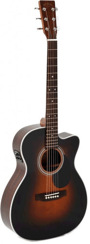 Sigma OMRC-1STE Acoustic/Electric Guitar - Sunburst