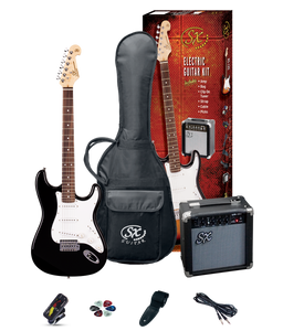 Sx Electric Guitar Pack - Black