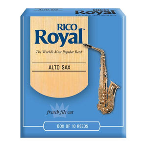 Rico Royal Alto Sax Reed Box 10