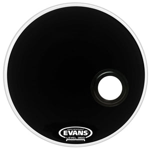 Evans EMAD Reso Black Bass Drum Head