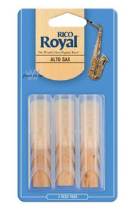 Rico Royal Alto Sax Reed 3 Pack
