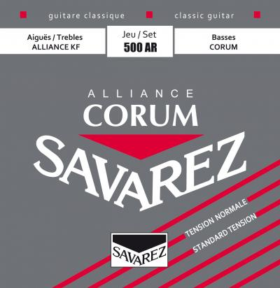 Savarez Alliance Corum Nylon Classical Guitar String Set Normal Tension