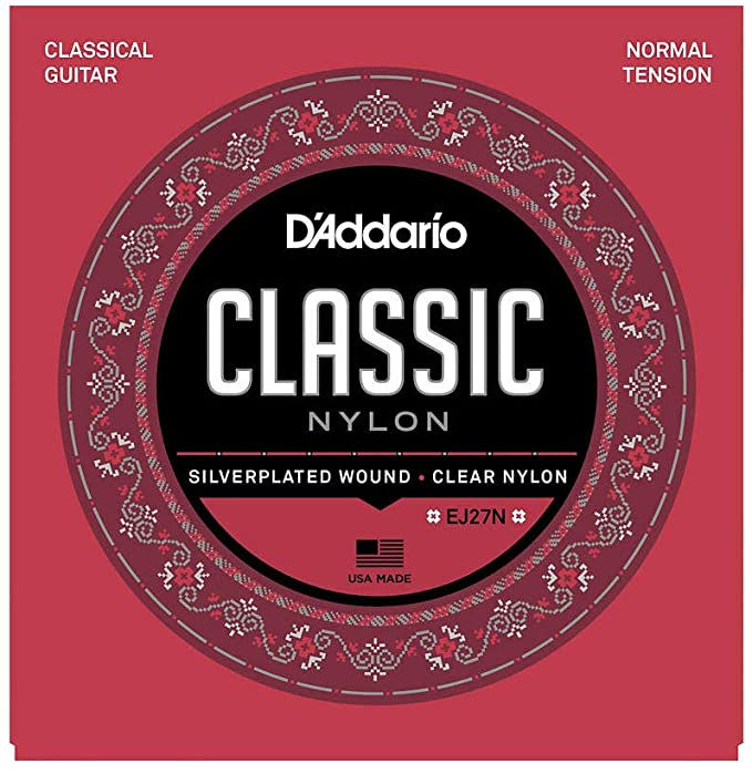 D'addario EJ27N Classic Nylon Normal tension String Set