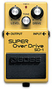 Boss Super Overdrive pedal SD-1