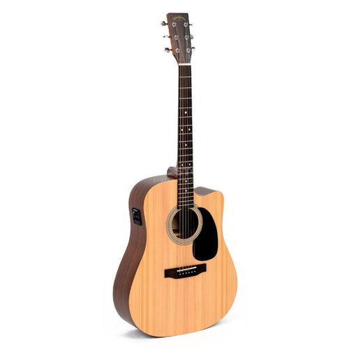 Sigma DMC-STE Dreadnought Electric/Acoustic Guitar