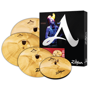 Zildjian A CUSTOM CYMBAL SET + 18'' CRASH
