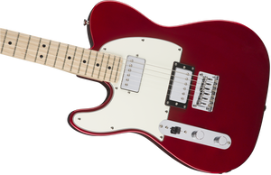 Fender Squire Contemporary Telecaster - Left Hand - Dark Metallic Red