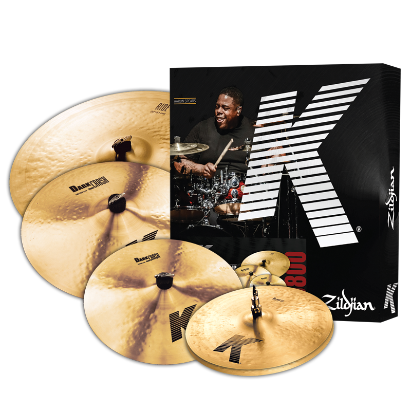 Zildijan K CYMBAL SET - 14/16/20 FREE 18 CRASH