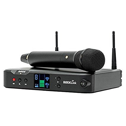 RØDELink Performer Kit Digital Wireless Audio System for vocal performance and presentation