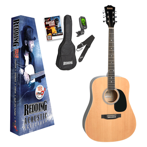 REDDING - Acoustic/Electric Guitar Pack