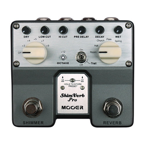 Mooer Shim Verb Pro Reverb Twin Pedal