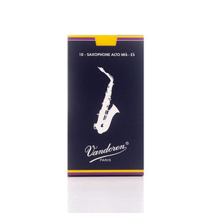 Vandoren Traditional Alto Sax Reed Box 10