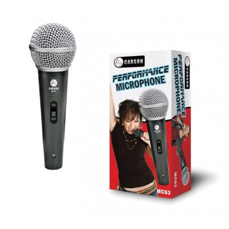 Carson MC63 Performance Microphone