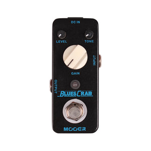 Mooer Micro Blues Crab Overdrive Pedal