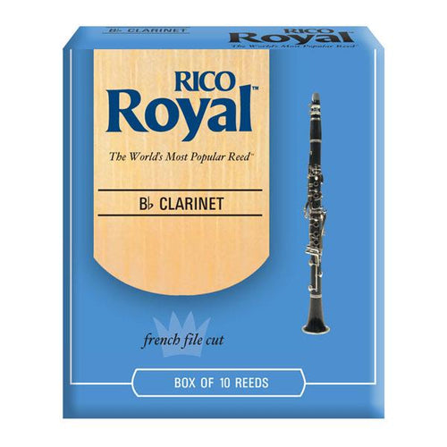 Rico Royal Clarinet Reed Box 10
