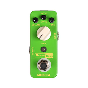 Mooer Micro Rumble Drive Overdrive Pedal