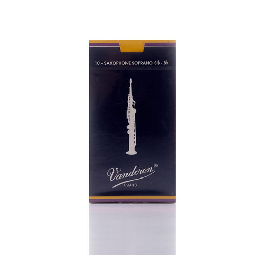 Vandoren Traditional Soprano Sax Reed (Box 10)