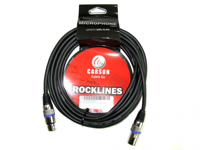 Carson Cable Co Rocklines - Mic Cable