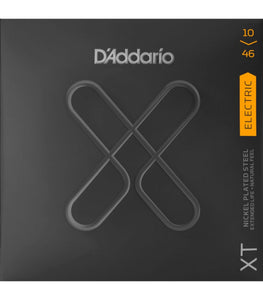 D'addario XT Nickel Wound Light Gauge Electric Guitar Strings .010-.046