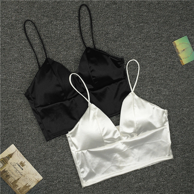 Silk smooth Plunge Bralette